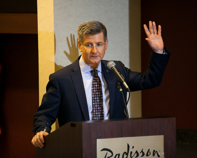 Dan Wyant speaks at the 2015 MCC Annual Meeting